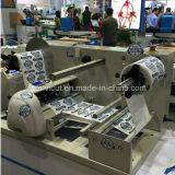 Rolo de Digitas a rolar/máquina cortando etiqueta giratória para a venda