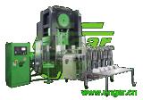 Machine d'alimentation automatique pour le conteneur de papier d'aluminium faisant la machine