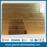 Metal de hoja grabado 4X8 de acero inoxidable de AISI 430 para los paneles de pared