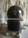 حجارة نحت صوّان/نافورة رخاميّة يصقل كرة نافورة لأنّ حد زخرفة ([كف006])