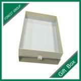 Boîte-cadeau faite sur commande réutilisée de tiroir de carton