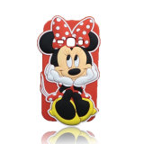 Reizendes Customized Mickey Shape Silicone Fall für iPhone 7/7 Plus