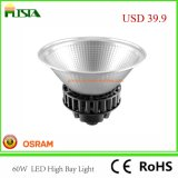 luz elevada do louro do diodo emissor de luz da luz industrial de 60W Osram