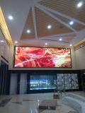 El mejor LED que hace publicidad visualización de LED de interior de la cartelera y de la señalización P3.91 P4.81 P6.25 con la cabina del LED para