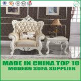 贅沢なホーム家具のGebuineの革ソファーベッド