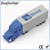 3D Aandrijving van de Pen van het Geheugen van pvc USB van de Vorm van de Vrachtwagen van de Stijl (xh-usb-166S)