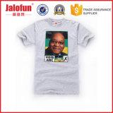 Maglietta stampata promozionale su ordinazione poco costosa del cotone (HYT-s 015)