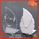 Fábrica collar de acrílico joyería del sostenedor del soporte de exhibición y Holder Collar