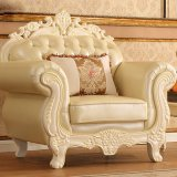 Insiemi di cuoio del sofà per la mobilia del salone (929P)