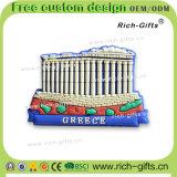 Souvenir de touristes personnalisé Grèce (RC-GR) de cadeaux de décoration de PVC d'aimants promotionnels de réfrigérateur