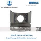 Mahle 6BG1 4 Tipo Pistón Anillo 8-97358574-0