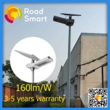 160lm/W 15W-60W 방수 새로운 태양 LED 가로등 도착한다