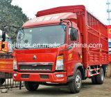 3-5 camion de cadre fermé de tonne, camion de cadre de HOWO