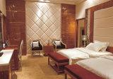 Conjunto de quartos de luxo com mobiliário de hotel moderno