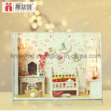 2017 Kid Wooden Toy DIY Doll House