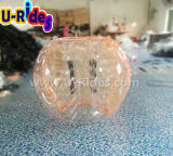 Burbuja de material TPU inflable humano de niños jugando