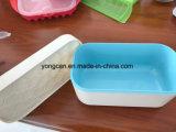 OEM de Eigengemaakte Koelere Doos van de Vorm van het Silicone van de Doos van het Ijs van de Doos van het Roomijs Plastic Rubber