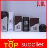 La poudre de cheveu noir de fibres de construction de cheveu cachent le cheveu de éclaircissement immédiatement