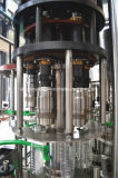 Terminar la máquina de rellenar plástica del agua de botella