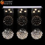 Lámparas cristalinas Om9218 de la dimensión de una variable de la estrella de la lámpara de la decoración del sitio de niños
