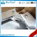 Tipo resistente cremalheira da placa da prateleira da construção robusta do aço inoxidável do armazenamento da série do vegetal 4 da cozinha