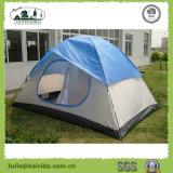 kampierendes Zelt der doppelten Schicht-4p mit halbem Deckel
