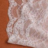 Form-Entwurfs-schöne weiße Blumenspitze-Hochzeits-Kleider