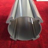 La alta calidad sacó el perfil de aluminio del edificio de la capa del polvo
