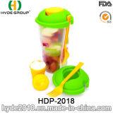 Чашка салата высокого качества пластичная с одевать чашку (HDP-2018)