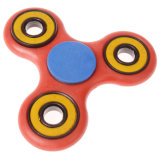 落着きのなさのおもちゃの圧力救助の心配の自閉症赤い手の紡績工