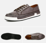 Estilo de moda a-Grade Cowhide Men Causal Shoes (NX 449)