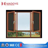 Madoye neuer Entwurfs-Puder-überzogener Non-Thermal Bruch-Aluminiumflügelfenster-Fenster