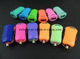 Cargador de carga rápido portuario del coche del USB del USB del USB 1 del cargador del coche mini mini