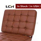 Hauptmöbelbrown-Farben-Barcelona-Stuhl auf Lager