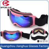 Beschermende brillen van Snowboard van de Sporten van de Manier van 100% de UV Beschermde Merk Gepolariseerde