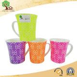 Tazza di ceramica di Cina di osso di colore lucido della caramella dalle 12 once nuova