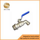 Bibcock do aço inoxidável do fabricante de China e válvula do Bibcock do bronze com tratamento da face do cromo