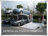 Due livelli che parcheggiano sistema che inclina la strumentazione di parcheggio