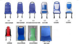 Bus Siège en plastique pour Changan, Yutong, Higer, Kinglong