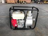 Bomba de água de escorvamento automático portátil do motor de gasolina para a agua potável