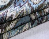 La tela del sofá del telar jacquar del modelo de zigzag en 2017