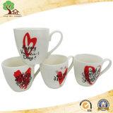 Taza de té de cerámica barata de la etiqueta al por mayor para la promoción