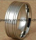 De Echte Zilveren Ringen van uitstekende kwaliteit van de Juwelen van het Titanium (TR1833)
