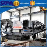 Завод дробилки Crawler большой емкости передвижной