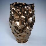 Atacado preço de fábrica potes grandes Bumpy vaso de porcelana