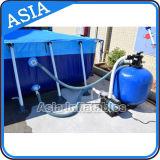 Kundenspezifischer Größen-Stahlrahmen-Swimmingpool, Metallrahmen-Pool, Stahlrahmen-Pool