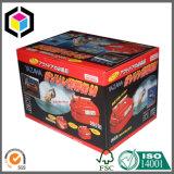 Caja de embalaje del papel a todo color de la cartulina del OEM para la visualización de los juguetes