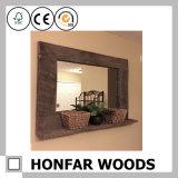 [بويلدينغ متريل] كبيرة حجم مرآة إطار خشب إطار