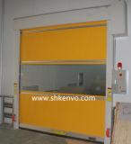Portello veloce dell'otturatore del rullo del tessuto del PVC per il trattamento di carico