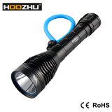 Hoozhu D12 최대 1000lm는 잠수 램프를 위해 100m를 방수 처리한다